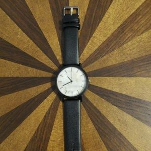 Other - Marble face black watch